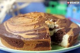 Eggless Marble Cake Recipe Cakes