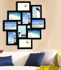 wall collage picture frames peachy ideas or opening wood photo hanging large