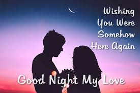Sweet Good Night Messages For Him True Love Words Impressive Love Images In