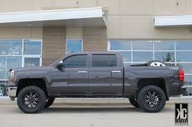 KC Trends - Black Rhino Sierra wheels mounted with Toyo tires and ...