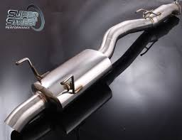 TOYOTA SUPRA MK4 TURBO NON TURBO 3 EXHAUST SYSTEM CAT BACK