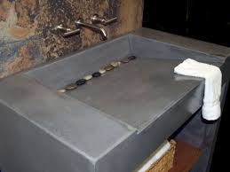image of square vessel sink installation