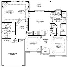 654193 french country 3 bedroom 25 bath house plan