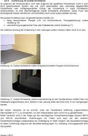 Richtlinie Für Den Einbau Von Fensterbänken Bei Wdvs Und