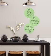 green vinyl wall decal sticker mural pops l stick dry erase dots 3 count com