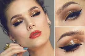 have a good inspiration with amazing holiday makeup ideas