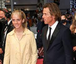 her mother at Cannes with dad Danny Moder