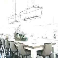 chandelier hanging height dining room