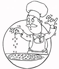 Small Picture 41 best Chefs images on Pinterest Colouring pages Kitchen and Draw