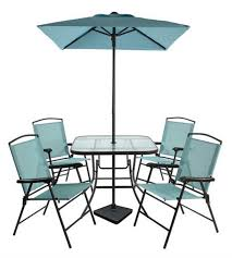 7pc room essentials sling folding patio dining set for 99 free pickup reg 130