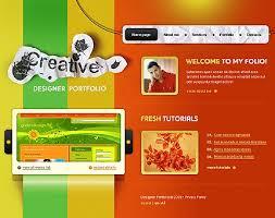 Creative Design Templates Vibrant Red Website Templates Entheos