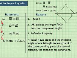 Triangle Proofs How To Write A Congruent Triangles Geometry Proof 7 Steps