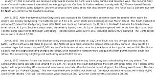 gettysburg supplement essay battle of gettysburg at comessay on battle of gettysburg nodns ca
