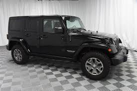 jeep rubicon 2015 black. Delighful Rubicon PreOwned 2015 Jeep Wrangler Unlimited Rubicon 4x4 To Black