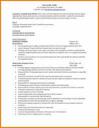 7 Sample Social Work Resumes Hostess Resume