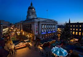 york christmas market 2017. nottingham has a traditional victorian market york christmas 2017