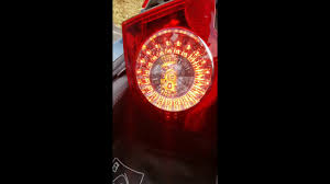 Vw Eos Rear Light Cluster Taillight Replacement 2009 Vw Eos