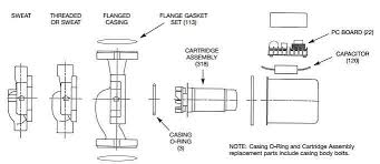 taco 008 bc6 3 4 sweat in line bronze booster pump 1 25 hp 1 ph taco series 00 diagram