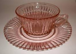 Carnival Glass Patterns New Determining The Value Of Pink Depression Glass