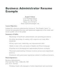 Business Resume Objective Resume Objective For Healthcare Wikirian Com