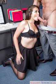 Office Slut Allie Haze Gives Out A Wicked Blowjob At Work Cubicle Blowjob Cumshot Hairy Office Stockings Brunette Slut Skirt