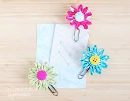 Flower Paper Clips Daisy Flower Paper Clips A Pumpkin And A Princess