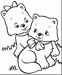 Small Picture brilliant cute kitten coloring pages with cute coloring pages