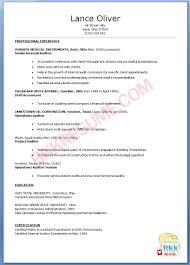 Beautiful Internal Resume Template On Auditor Best Curriculum Vitae