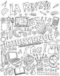 Bienvenue A L Ecole Un Max De Coloriages Pinterest Bienvenue