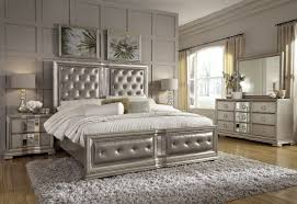 cool couture silver panel bedroom set from pulaski pulaski furniture bedroom sets