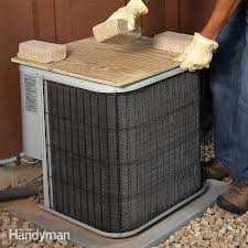 cover your outside central air conditioning unit