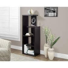 monarch specialties bookcase. Wonderful Monarch Monarch Specialties Cappuccino Open Bookcase And O