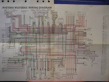 yamaha diagram in motorcycle parts nos yamaha factory wiring diagram 1988 xvz13du xvz13duc