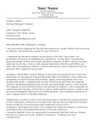 Cover Letter Format Letters Office Assistant Magnificent For Job