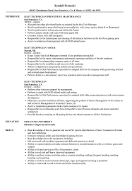 Slot Technician Resume Samples Velvet Jobs