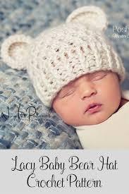 Infant Crochet Hat Pattern Mesmerizing Crochet PATTERN Bear Hat Crochet Pattern Crochet Pattern Baby