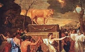 The Adoration of the Golden Calf, Nicolas Poussain | Linda Thompson