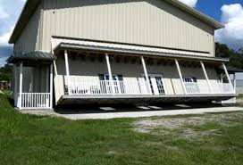 house exterior design with lift garage door