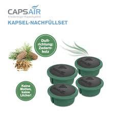 Capsair Ersatz Kapsel 4x Zedernholz Caps