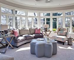 arranging and decorating right for round living room