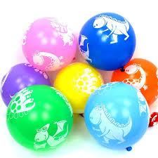 12 Inch <b>10pcs Cartoon Dinosaur Latex</b> Balloon Children Toy ...