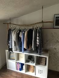 Diy Kleiderstange Aus Einem Ast Decoración In 2019 Diy Clothes