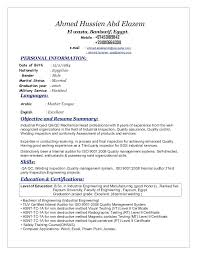 Senior Qa Engineer Sample Resume Extraordinary Example Of Resume For Quality Engineer As Well As Senior Quality