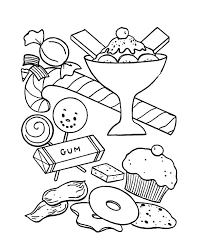 Small Picture Ice Cream and Other Sweet Coloring Pages Bulk Color