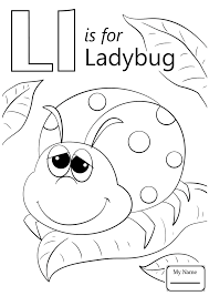 Coloring Pages Letter L Letters And Alphabet Letter L In Heart