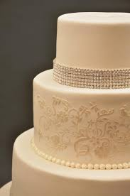 cake lace with with gold leaf cake stencil