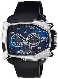 buy fastrack chronograph blue dial men s watch 38005pp02 online buy fastrack chronograph blue dial men s watch 38005pp02 online at low prices in amazon in