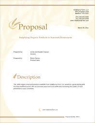 Organic Farming Product Sales Sample Proposal 5 Steps