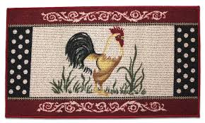 rooster rugs for the kitchen rooster kitchen accent rug berber country farm en