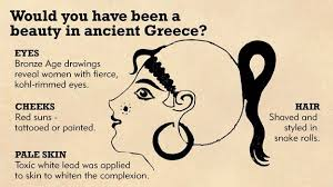 annotated picture would you have been a beauty in ancient greece